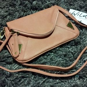 Pink crossbody purse by Wild Pair - NEW WITH TAGS